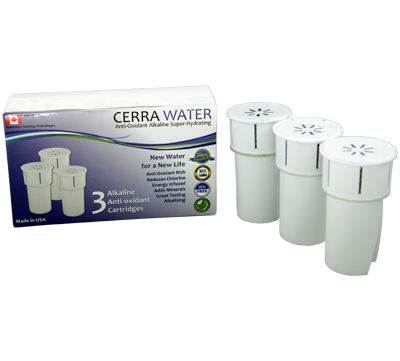 10 Cerra Water Replacement Filters (3 pack)