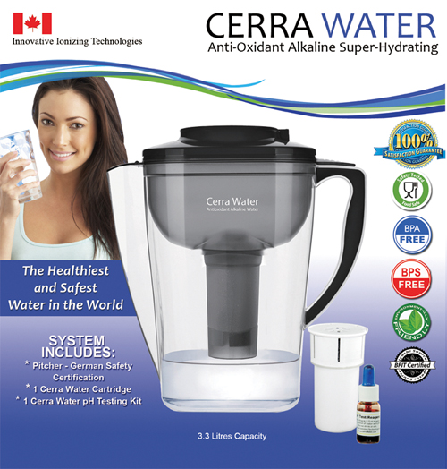 Cerra Water Pitcher - Click Image to Close