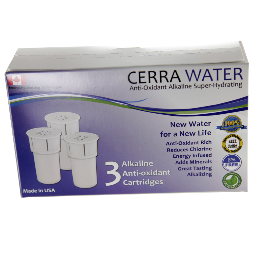 Cerra Water Replacement Filters (3 pack) - Click Image to Close